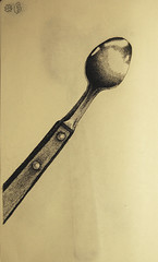 spoon, tool, tableware, drawing, cutlery, illustration,