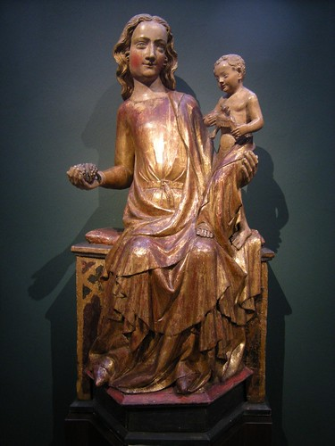 Kölner Meister - Thronende Maria mit Kind