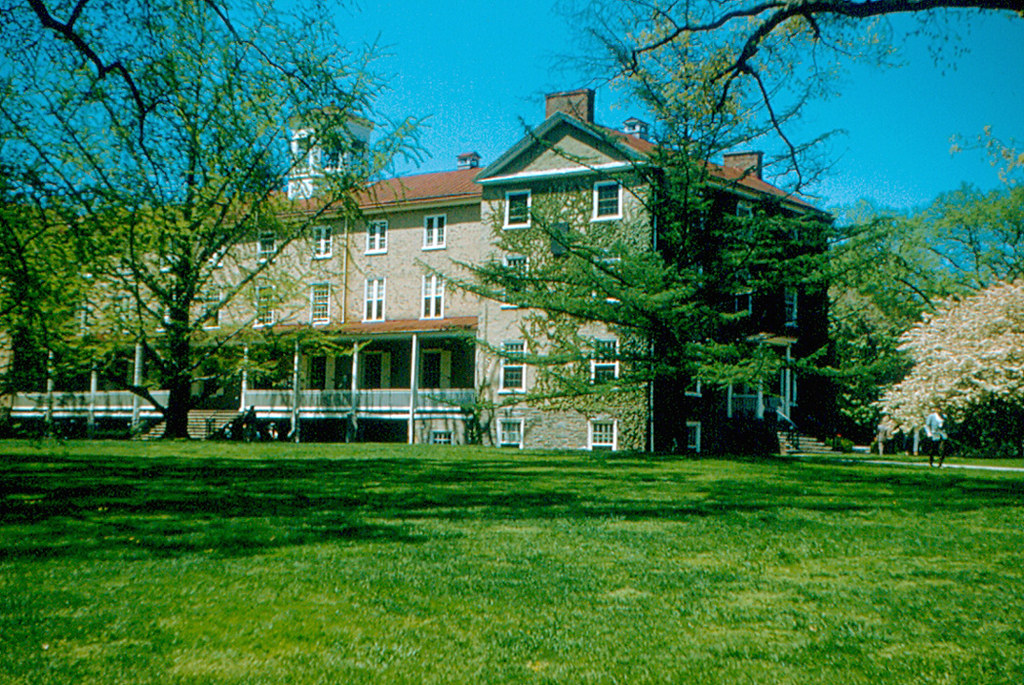 Haverford College Founders Hall 1958 Founders Hall Is Flickr