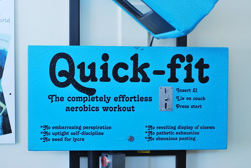 """Quick Fit"" - The completely effortless aerobics workout"