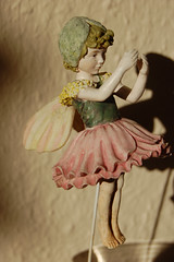 fairy, fictional character, figurine, dress, doll, toy,