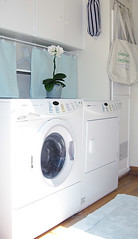 laundry room+white+aqua -2