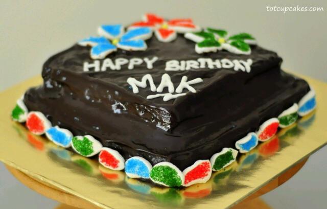 Super moist choc cake ~totcupcakes.com~