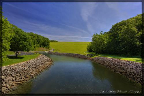 creek pond dam hdr spillway caesarcreek