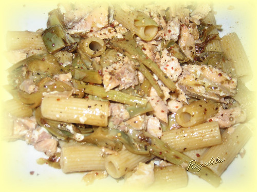 Rezeditas ensalada de pasta y alcachofas for Ensalada de pasta integral