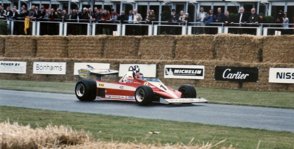 Ferrari 312 T3 Built 1973 3.0litre Flat 12 Driven by Jacques Villeneuve