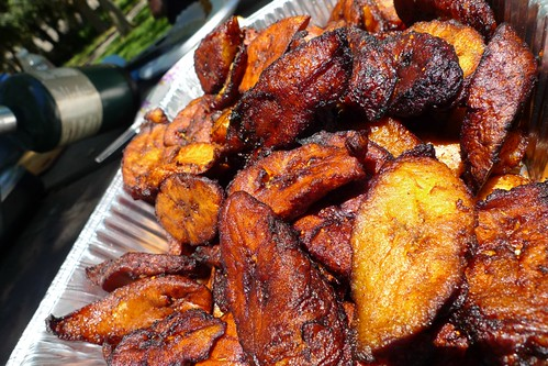 reheat fried plantains