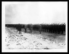 Inspection of a Canadian Battalion