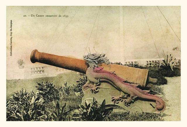 INDOCHINE - CAP ST JACQUES - CANON ANNAMITE DE 1659