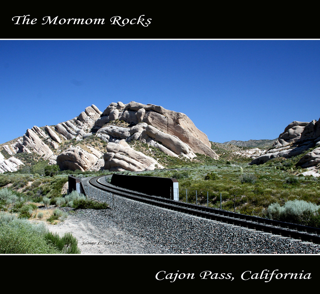 The Mormon Rocks