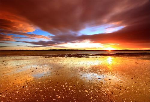 ocean sunset newzealand sky cloud seascape beach shoreline le nz nd devil aotearoa domain chatswood canonef1635mmf28liiusm northshorecity aucklandbeach kauripointdomain acklandsunset