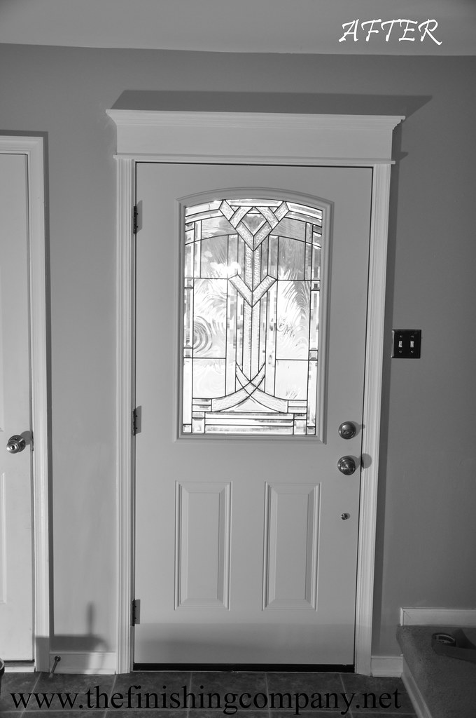 how to make door header molding
