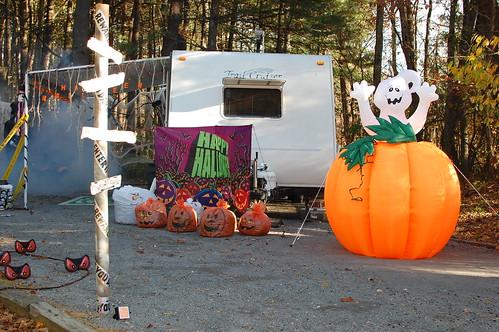 Halloween campsite, DSC 0186, happy halloween haunting