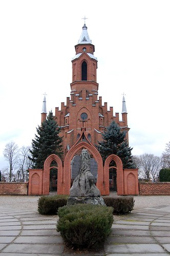 Kernavė church
