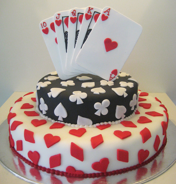 poker cake Flickr - Photo Sharing!