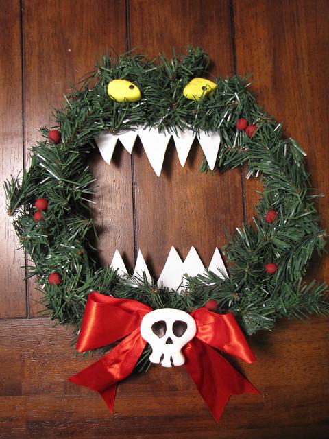 Nightmare Before Christmas Killer Wreath Flickr Photo