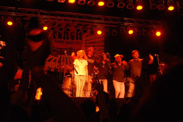 Trigger Hippy @ Peach Music Festival, Scranton, PA, 10 August 2012
