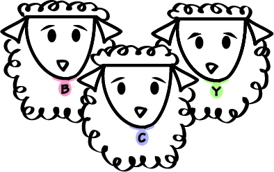 Three Sheep_triangular pastel tweaks