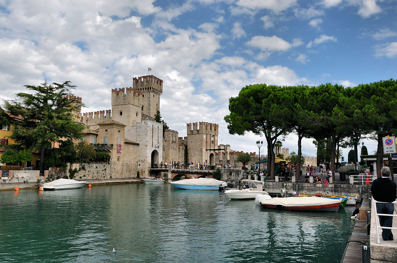 Castell Scaligero,  Sirmione, Italy