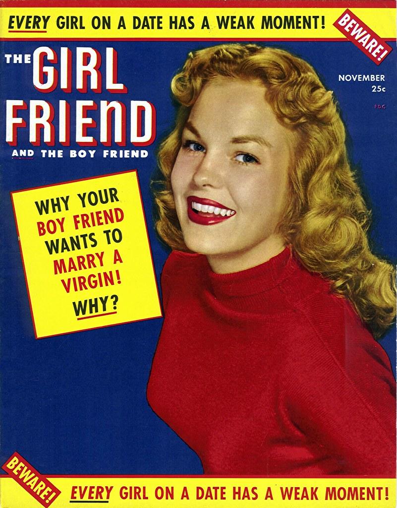 1952 - The Girlfriend and the Boyfriend Magazine