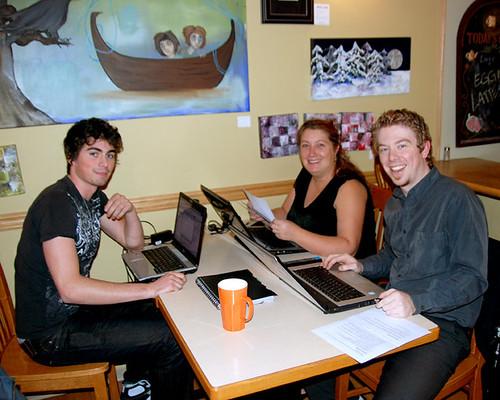Nov 09 OT4U team meeting, Abbotsford, BC