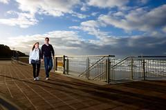 St Clair esplanade, Dunedin