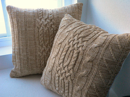 Sweater Pillows | Flickr - Photo Sharing!