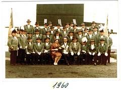 1960, Schützenfest, König Peter Niesen, Königin Ida, SW128