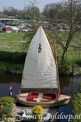 Zijlsloep Classic under sail