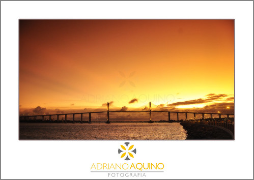 bridge pordosol brazil brasil natal sunrise ponte riograndedonorte filtro potiguar degradê newtonnavarro