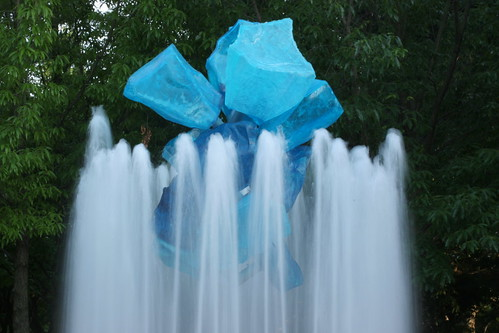 Blue Stone Chihuly Fountain