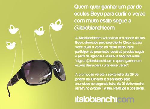 Sorteio No Twitter Sorteio No Twitter De Um Par De óculos