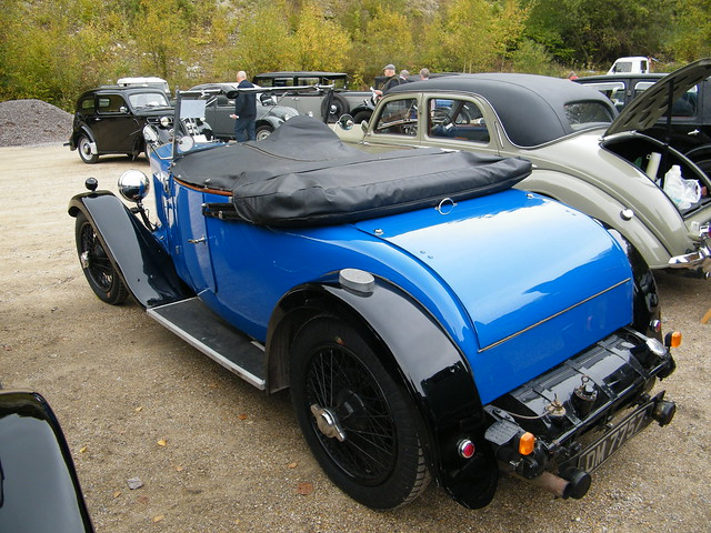 1930 Lea Francis P Type 2 seater Tourer (2)