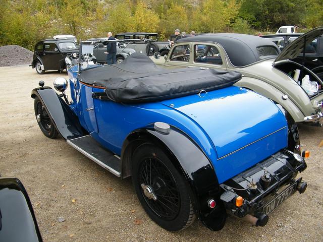 1930 Lea Francis P Type 2 seater Tourer (2)