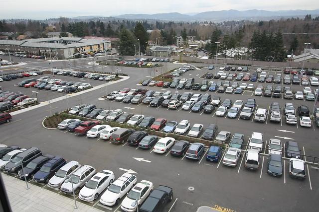 Tukwila/International Blvd Station Parking lot