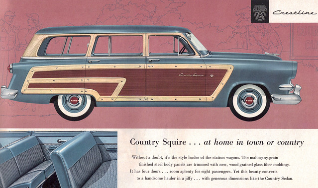 1954 Ford Country Squire Station Wagon