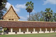 Le cloître du That Luang (Vientiane)