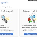 Google Voice (almost like playing Oregon Trail!)