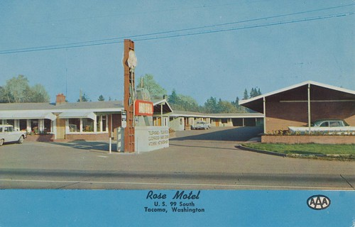 Rose Motel - Tacoma, Washington by What Makes The Pie Shops Tick?