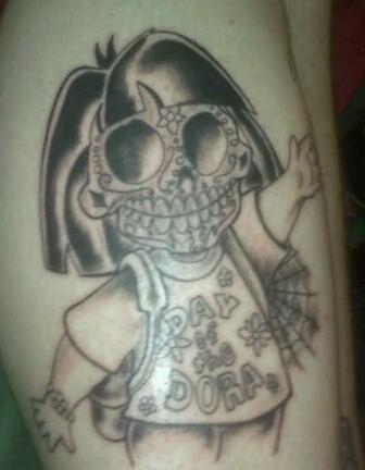 dora tattoo | Flickr - Photo Sharing!