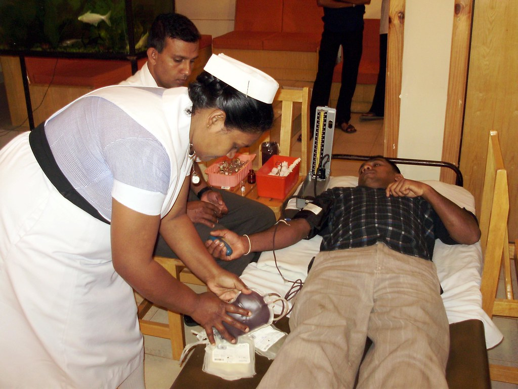 Mahiyangana Sampath Bank = Blood  Donation Camp 2010