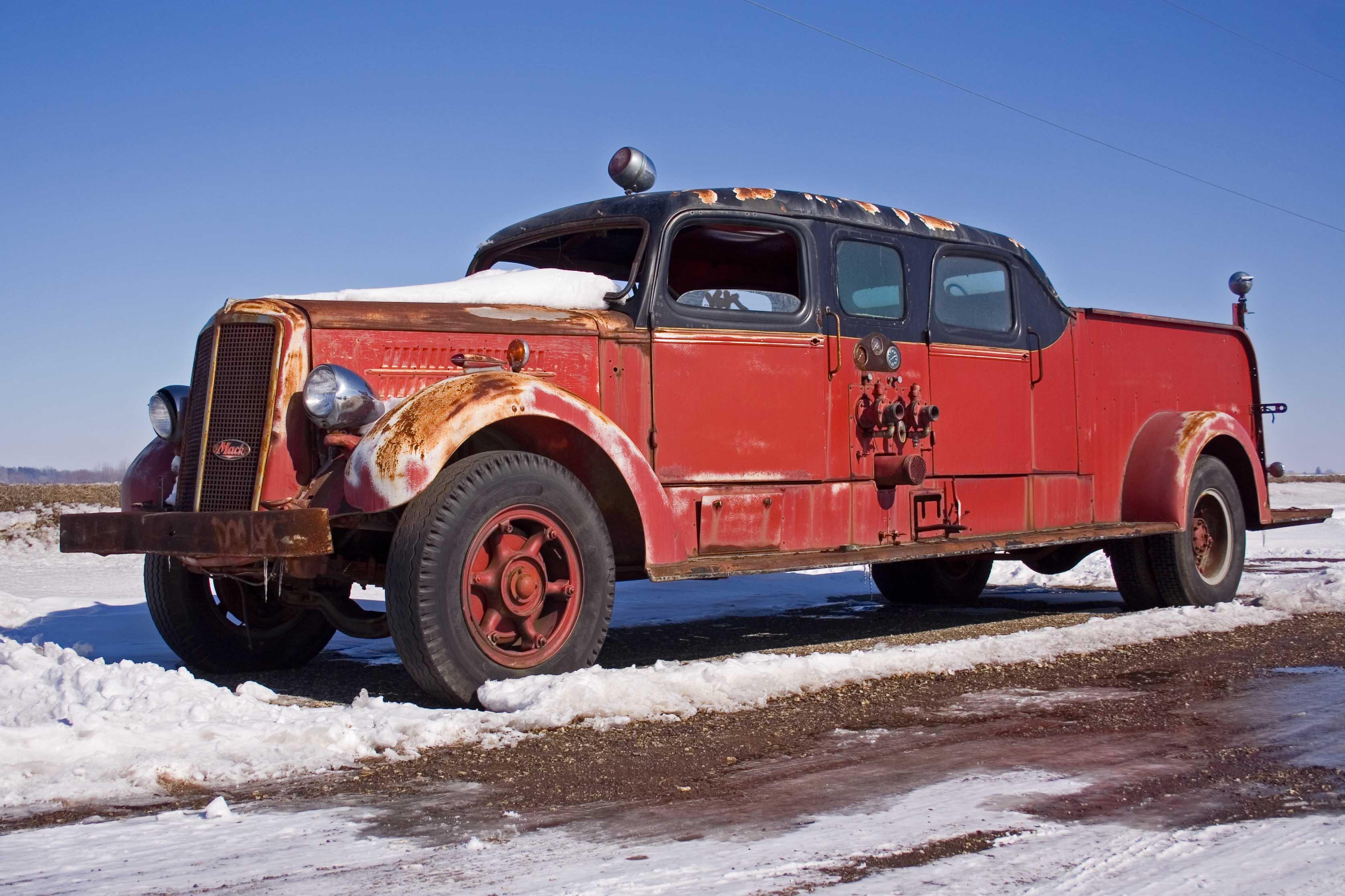 Mack Fire Truck Flickr Photo Sharing