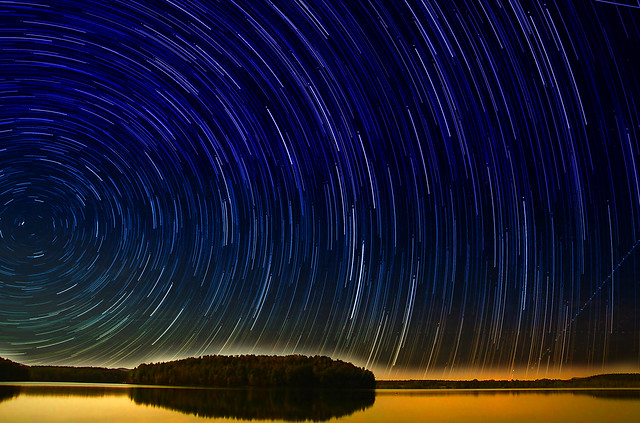 Mattina Startrail Glorious