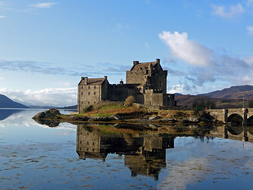 Reflections at Eilean Donan Castle
