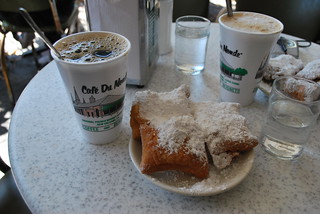 Beignets & coffee..