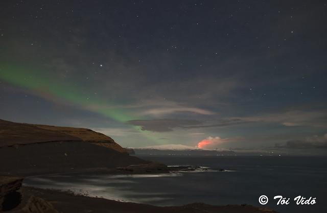 Eruption in Iceland in Eyjafjallajökull