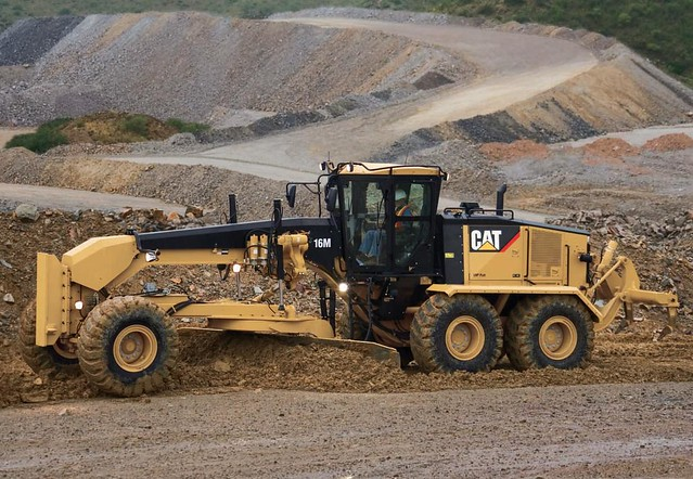 Caterpillar Motor Grader 16m Flickr Photo Sharing