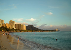 Waikiki in the afternoon