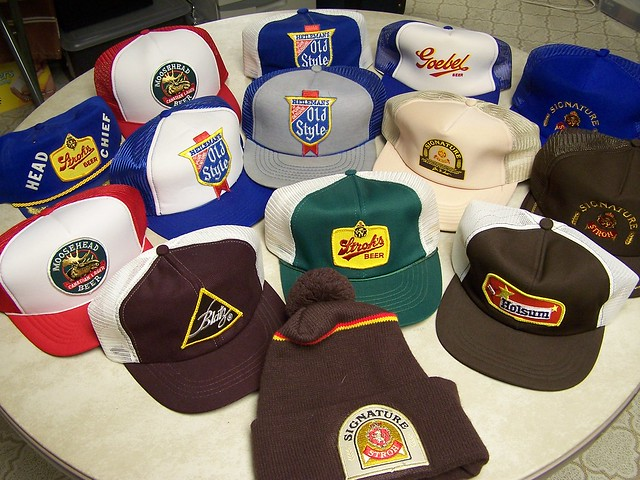 Vintage Beer Hats 35
