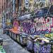 Grafitti lane by J-C-M